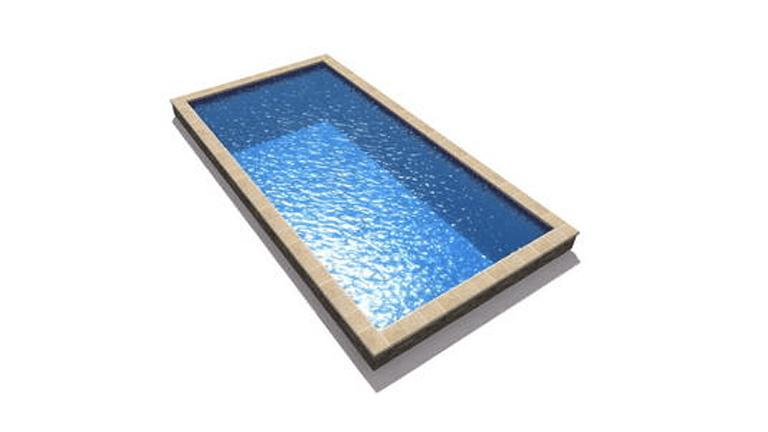 piscina dreptunghiulara, model Classic