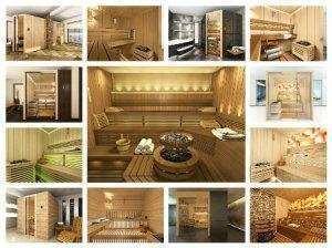 Modele sauna finlandeza