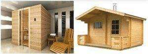 Sauna finlandeza