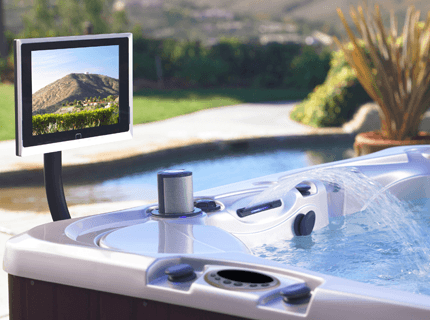 Wireless TV spa