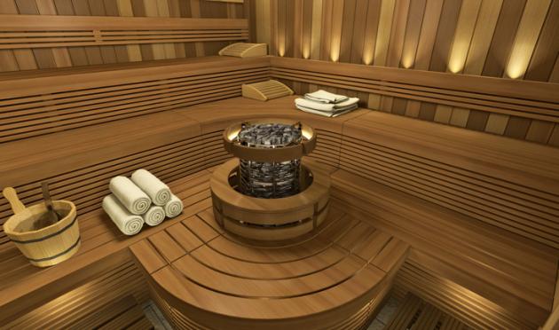 interior sauna finlandeza design deosebit