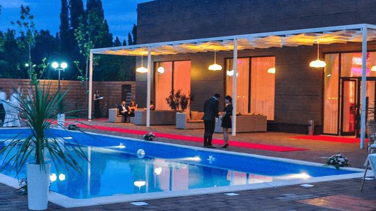 piscina decor