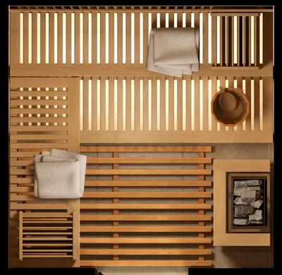 plan sauna NATURA-S3