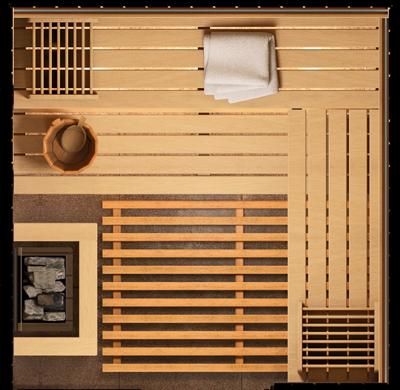 plan sauna model epica s1