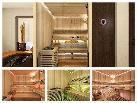 sauna finlandeza, model EPICA