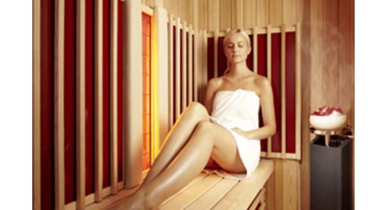 relaxare sauna infrarosu